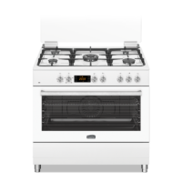 Free Standing Electric Oven - Gas Top